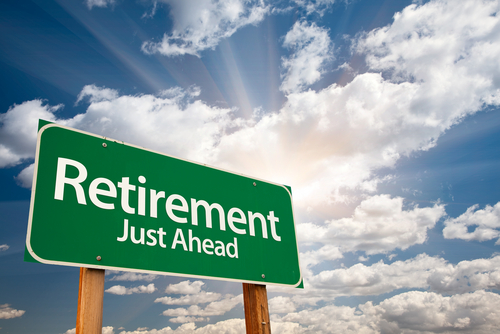 retirement sign